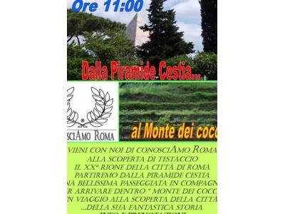 """"""" Dalla Piramide Cestia, al Monte dei Cocci """""""