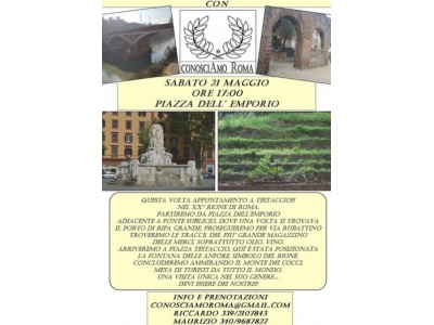 """"""" Testaccio / Monte dei cocci """""""