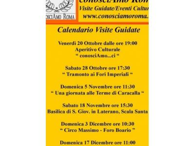 """"""" Calendario Visite Guidate """""""