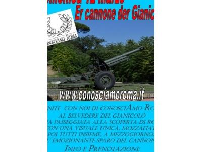 """"""" Er cannone der Gianicolo """""""