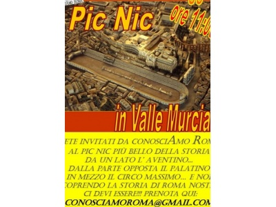""" Pic Nic in Valle Murcia """