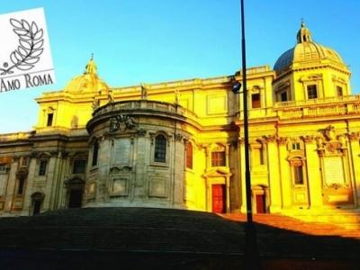 """"""" La scalinata di S. Maria Maggiore """""""