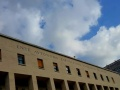 Il palazzo degli uffici nel quartiere Eur